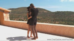Ebony MILF Fucks Her Lover In Africa