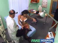 Picture FakeHospital doctor makes sure patient is we...