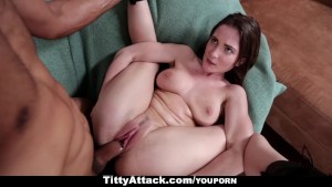 TittyAttack - Busty Brunette Molly Jane Fucked Hard
