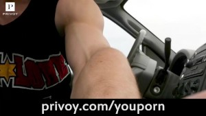 getting caught jerking off in my car