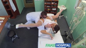 Sexy new nurse likes working for her new boss