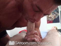 Picture HD GayRoom - Travis gets massaged by Tyler S...