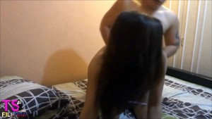 TS FILIPINA JUST GET FUCKED WITH HER FILIPINO FRIEND