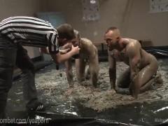 Mud Wrestling Bondage Anal