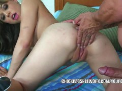 Teen hottie Tiffany Star takes some dick from a stranger