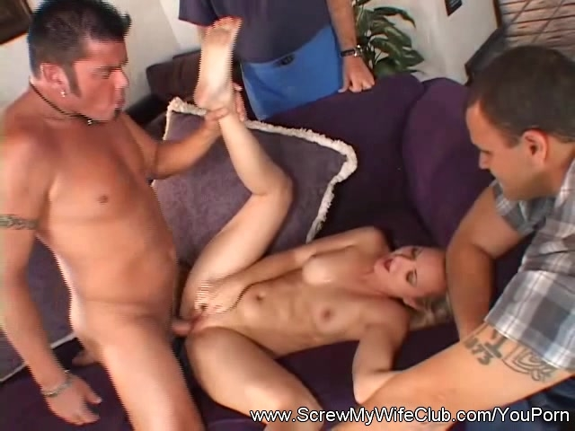 Wife watch husband fuck another woman