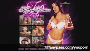 Tiffany Preston pantie creampie