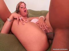 - Busty slut rides Short...