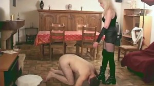 Mistress tell her slave to fuck another slave - Java Productions