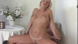 Blonde Housewife Fucks A Young-Cock - Java Productions