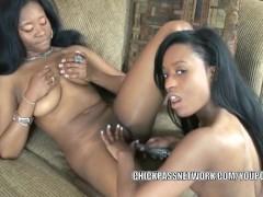 Picture Black hottie Mercy Starr fucks her girlfrien...