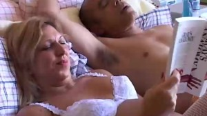 Beautiful older babe Xena enjoys a sticky facial cumshot