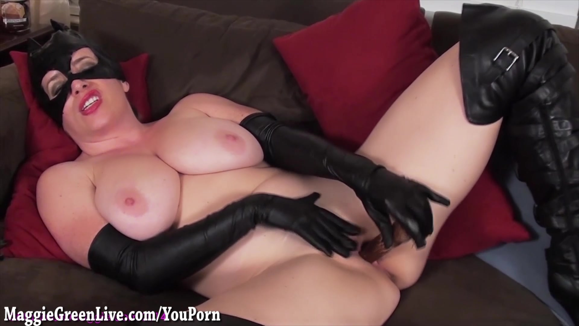Big Titty CatWoman Maggie Gree