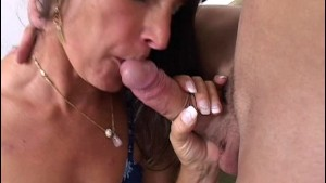College Boys Gets Seduced By A Horny Mature