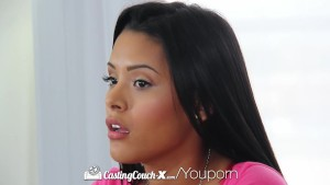 HD CastingCouch-X - Josie Jagger gets a healthy facial in her first shoot