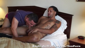 Sucking sexy mixed straight dude