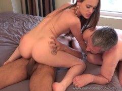 Picture Hot Wife Creampied By Black Cock and Husband Eats...