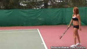 Tennis And Blowjobs