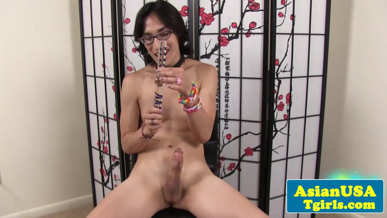 Asian tgirl Cam in power range