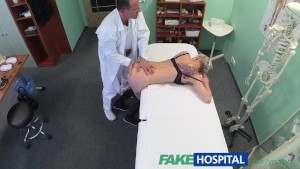 FakeHospital Blonde tattoo babe fucked hard by her doctor