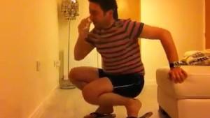 Sneezing Ian's Sneezing and Flip Flops Fetish Video (10)