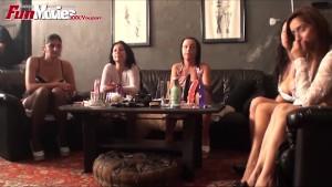 FUN MOVIES Lesbian Strapon Face Fucking