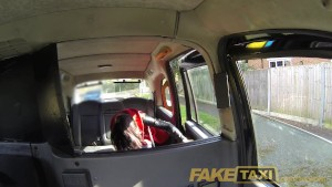 FakeTaxi Horny Spanish lady does anal