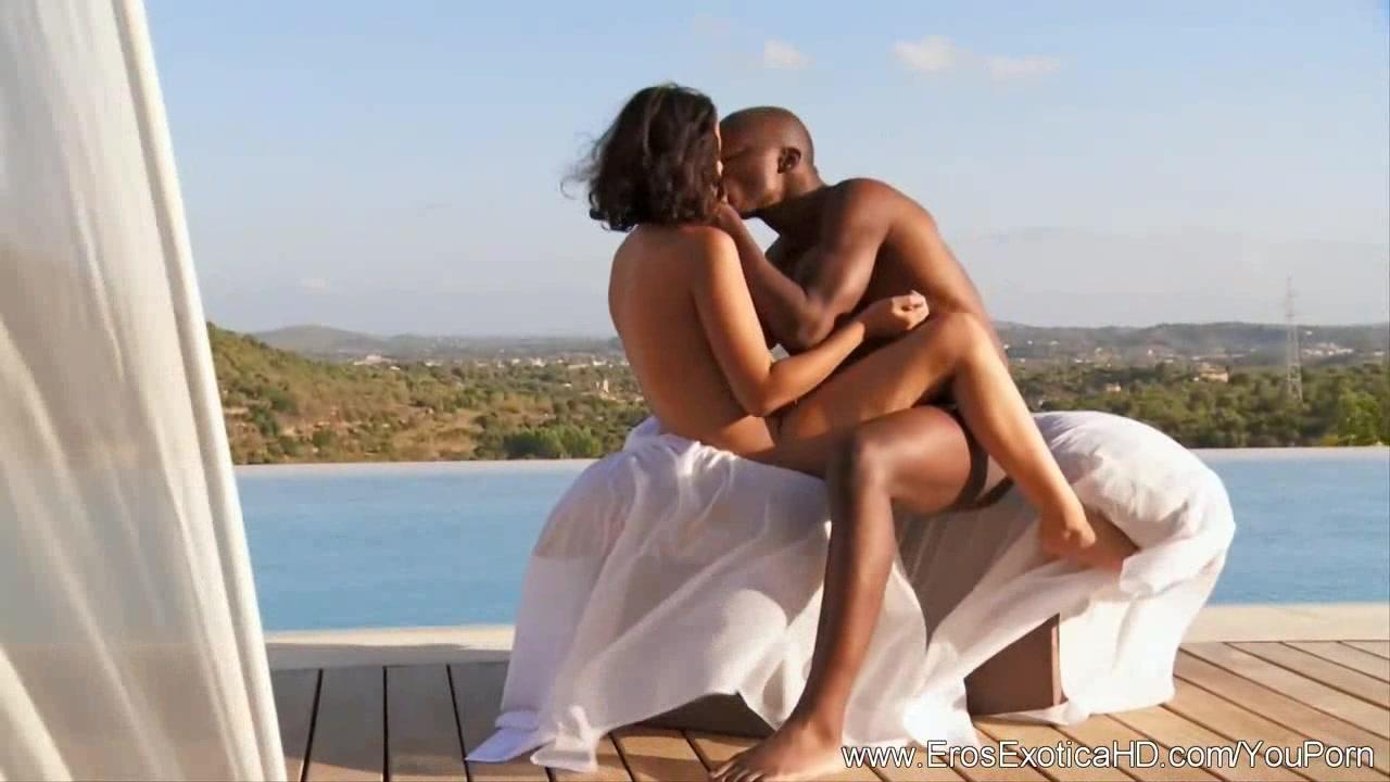 Ebony Couple Experiment With S