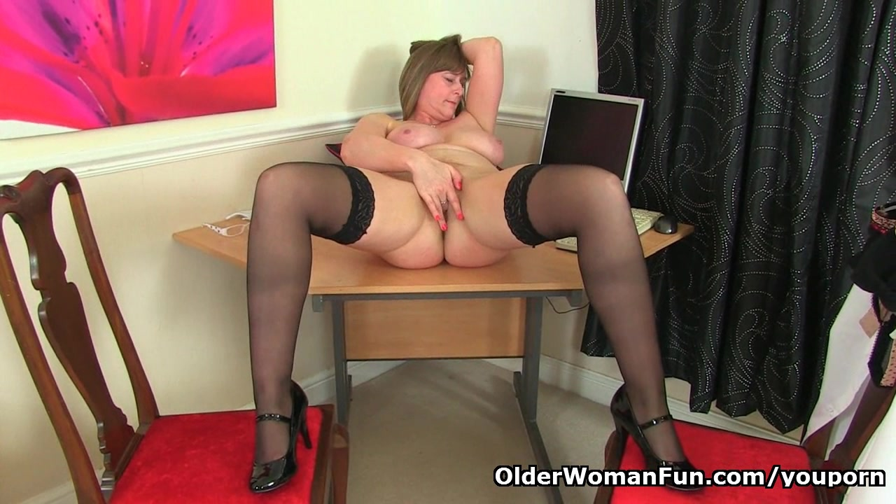 British mom April loves to be