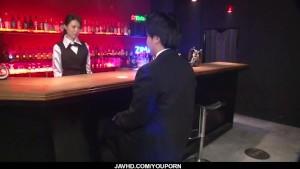 JapaneseRino Asuka spreads legs for large cock