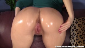 Big Booty Babe Takes A Pounding And A Facial!