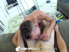 Monster Cock Bottom Garrett Cooper Gets Fucked