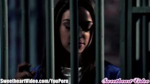 Sweetheart Sara Luvv and MILF Prison Lesbians