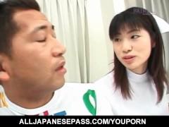 Saki Mutoh nurse has h... video