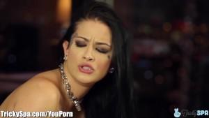 TrickySpa Katrina Jade Seduced by Dirty Masseur
