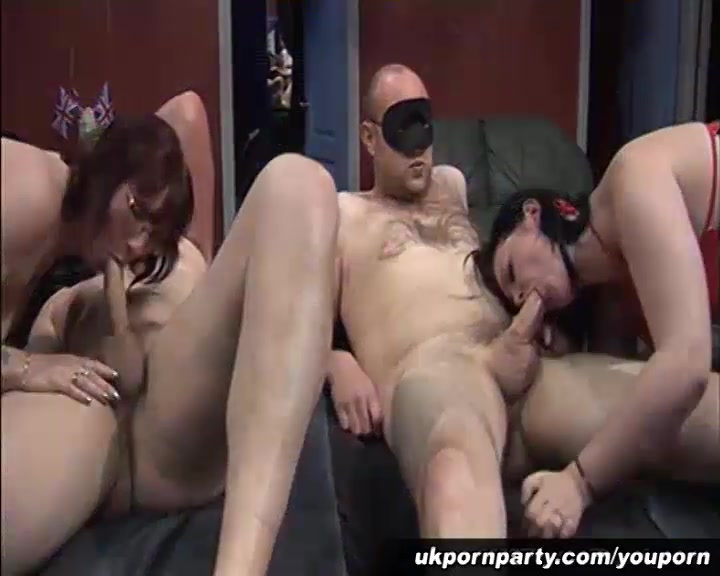 Group sex party for UK amateur