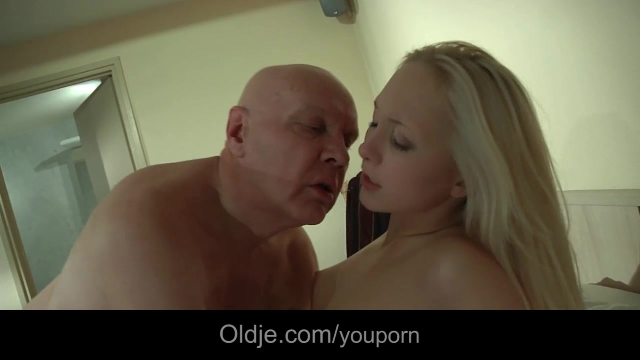 Bald sugar daddy fucks his you