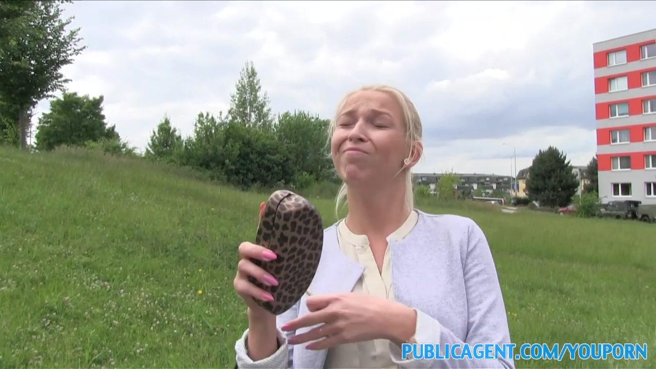 PublicAgent Blonde with big bo