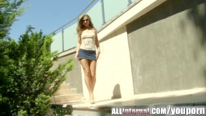 All Internal Angel Snow is fucked hard and filled with cum