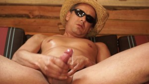Sensual Showsalot: Cumming Cowboy long hard slow cumshot