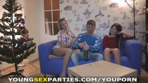 Young Sex Parties - Christmas pre-fucking party