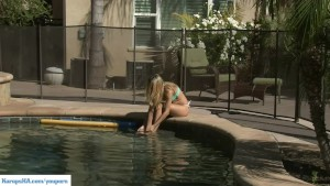 Natalia Starr Outdoor Masturbation