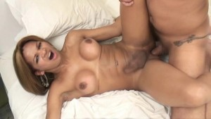Tgirl Hot Barebacking Video