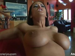 Sexy Carmella Bing gets anal and DPed in hot threesome