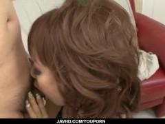 Sweet porn show along horny Misa Kikouden