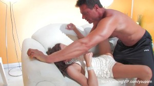 Nick Manning fucks a hot brunette
