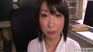 Japanese gokkun cum play with Kana Ohori English Subtitles