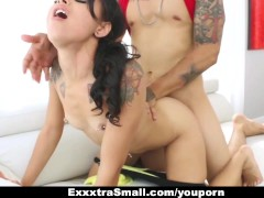 ExxxtraSmall - Stranded Teen Gets Picked Up And Fucked