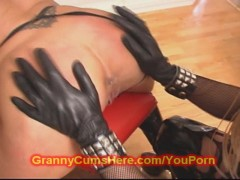 Sweet milf ASS FUCKED by BIZZARE GRANNY