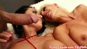 Puma Swede & Franceska in Crazy Threesome!